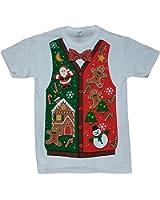 Christmas Sweater White Graphic T-Shirt