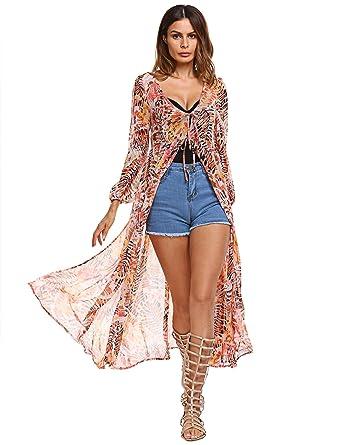 Long Print Summer Dresses