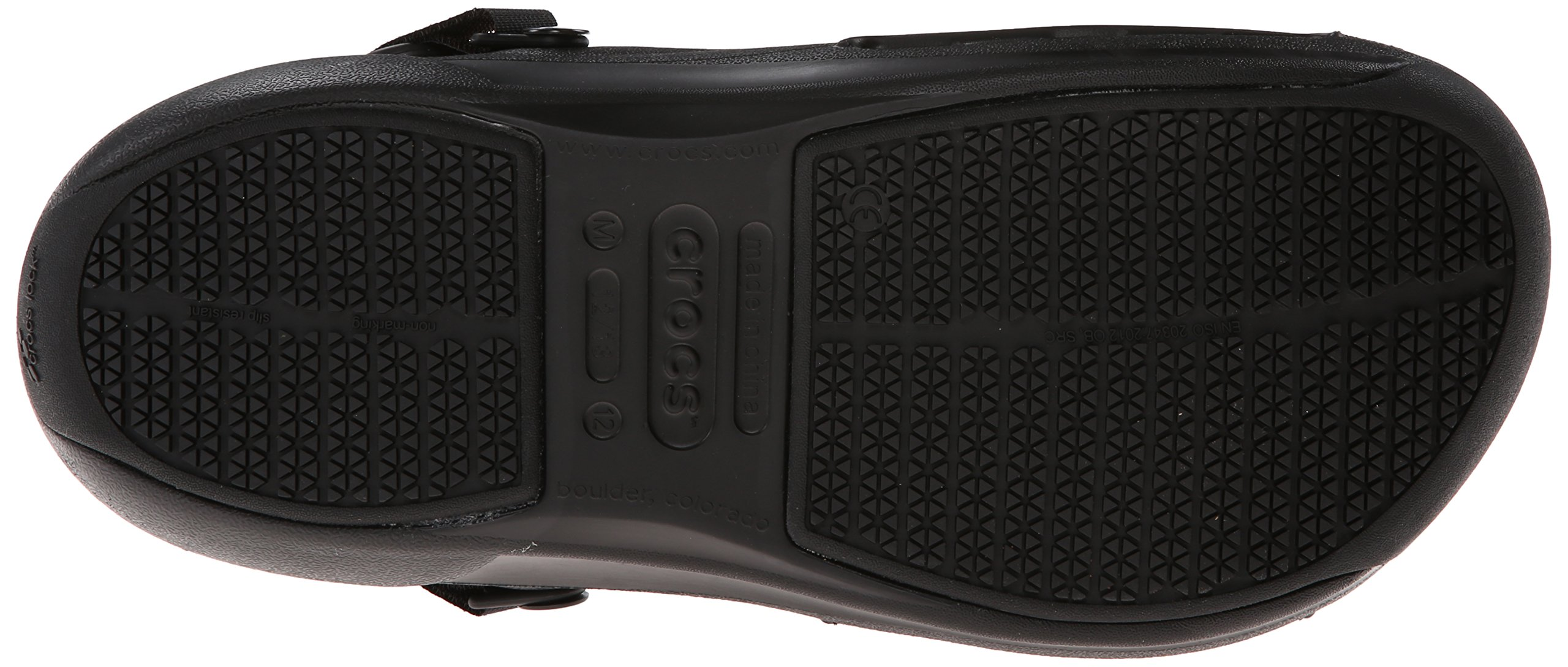 Crocs Men's 15010 Bistro Pro Clog,Black,11 M US by Crocs (Image #3)
