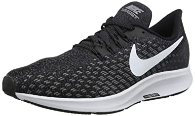 new arrival c8317 cef30 Nike Men s Air Zoom Pegasus 35 Running Shoe (6 M US, Black White