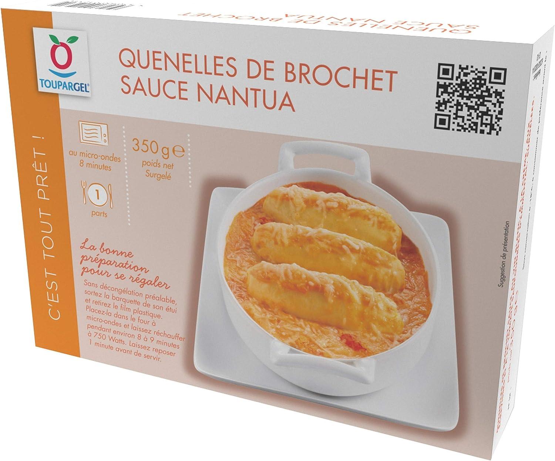 Quenelles Surgelees De Brochet Sauce Nantua 350 G Amazon Fr