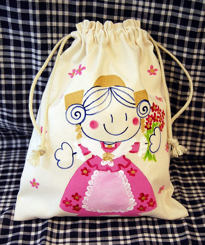 Saco de merienda personalizado Fallera: Amazon.es: Handmade