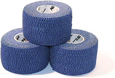 NOSECOND 6-Pack Tape Premium para Cross Training de algodón elástico Adhesivo de 38mm x 6m