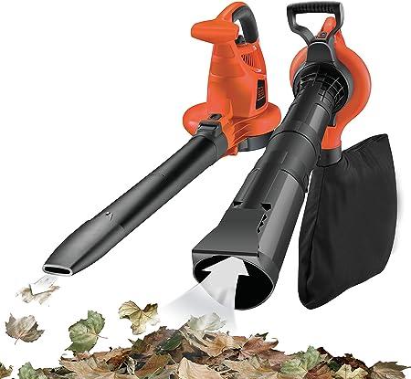 BLACK+DECKER GW3030-QS - Aspirador, soplador y triturador de hojas ...