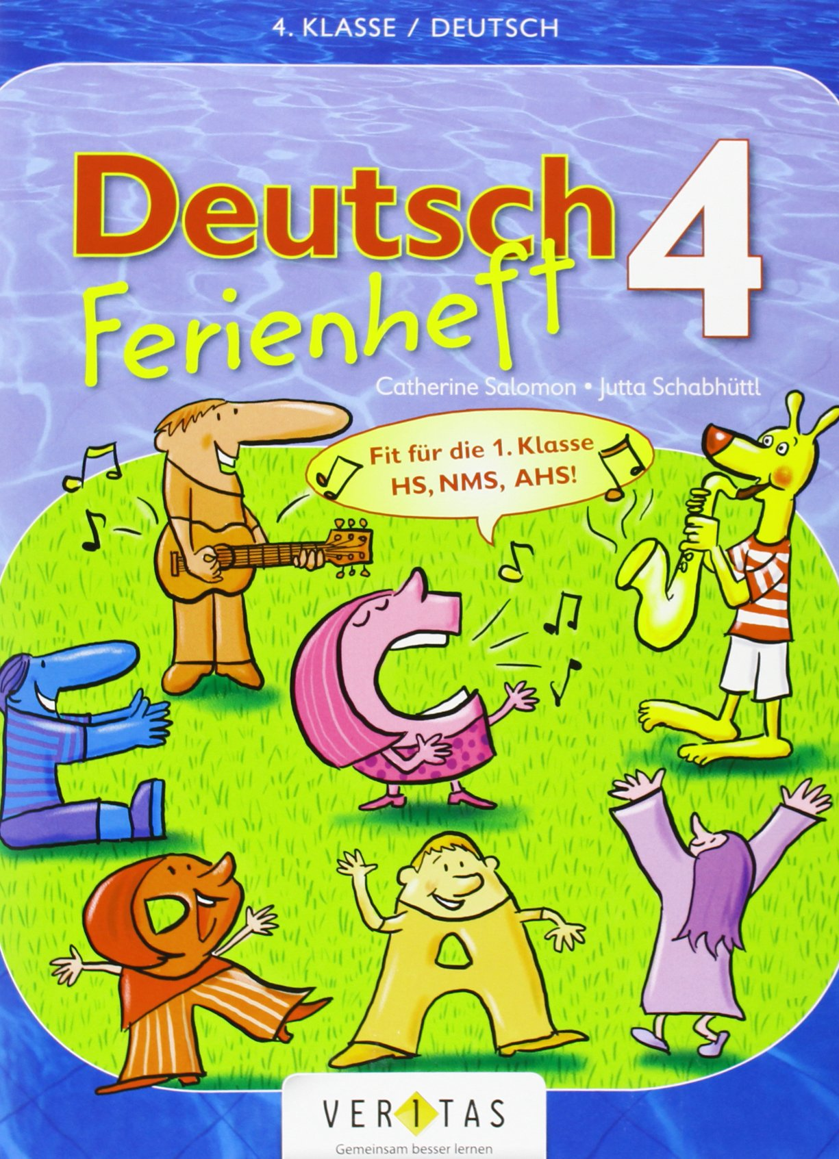 Deutsch Ferienhefte: 4. Schuljahr - Ferienheft mit eingelegten Lösungen: Zur Vorbereitung auf das 5. Schuljahr