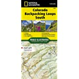 Colorado Backpack Loops South (National Geographic Topographic Map Guide, 1305)