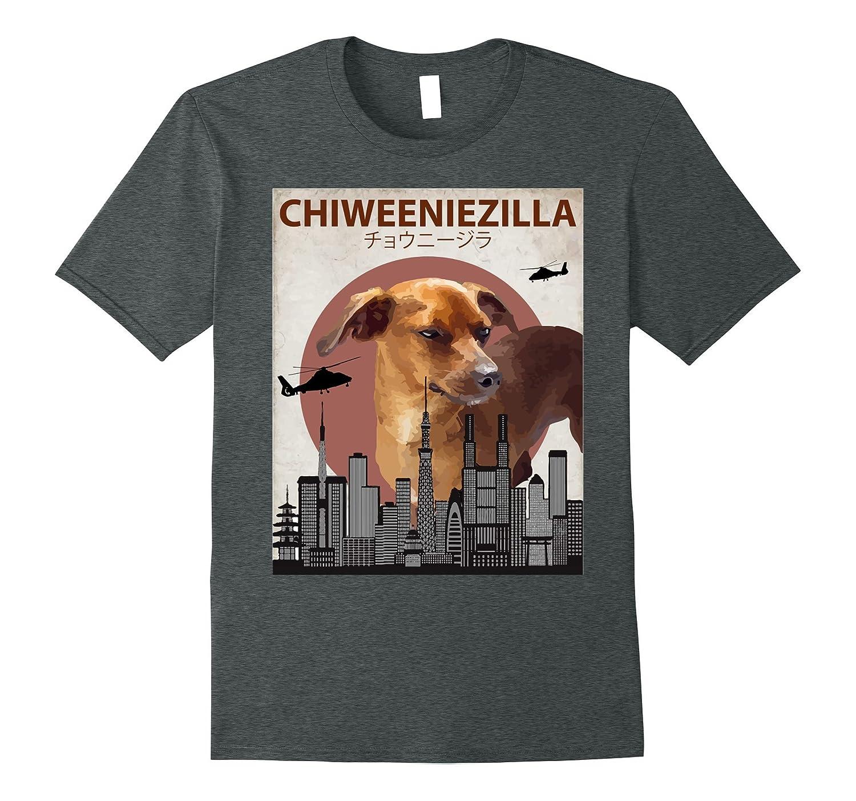 Chiweeniezilla Funny Chiweenie T-Shirt  Dog Lovers Gift