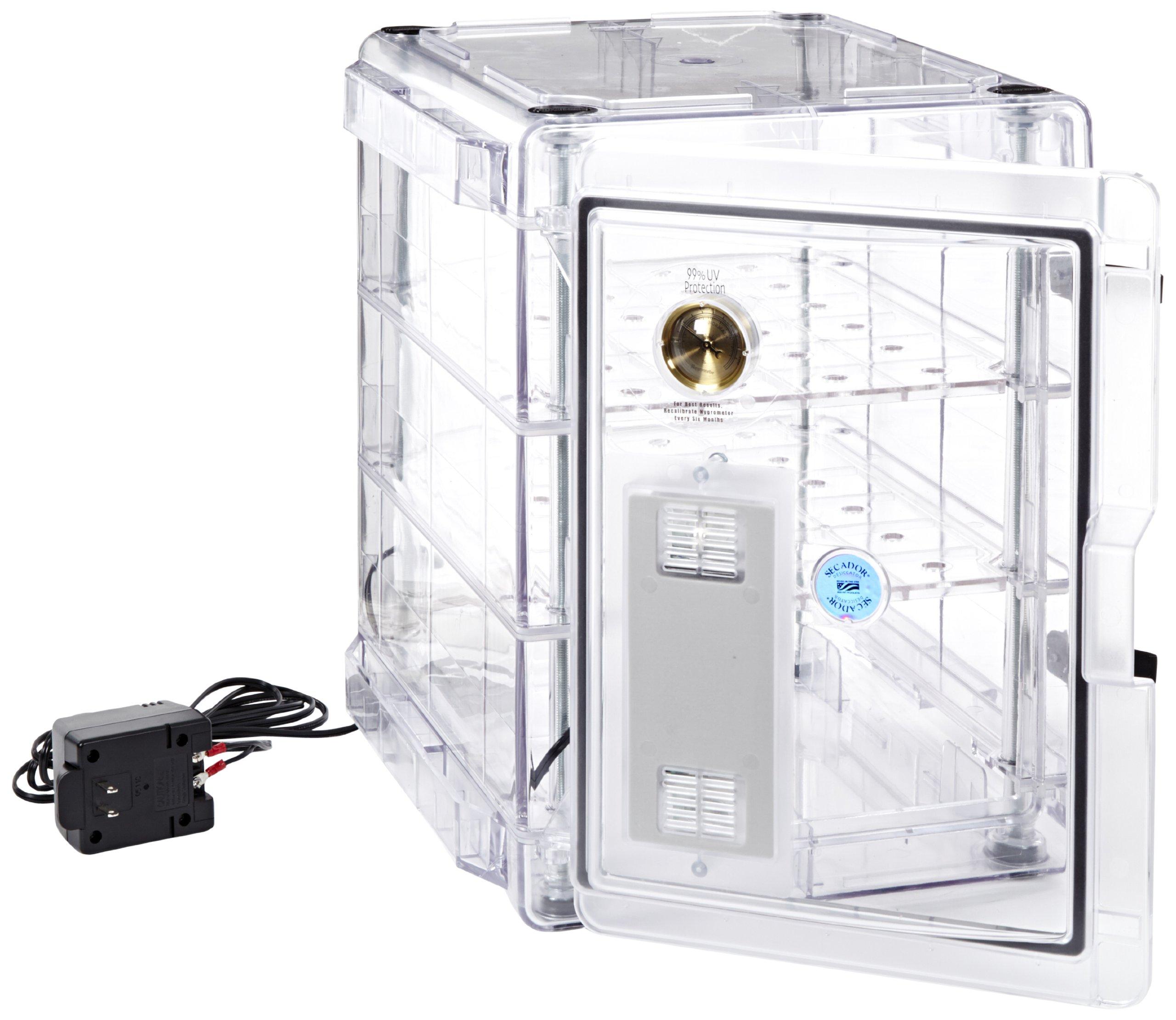 Bel-Art Secador Clear 3.0 Auto-Desiccator Cabinet; 120V, 1.6 cu. ft. (F42073-1115)