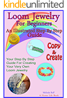 The loomatics interactive guide to the rainbow loom kindle loom jewelry for beginners an illustrated step by step guide to making rainbow loom bracelets fandeluxe