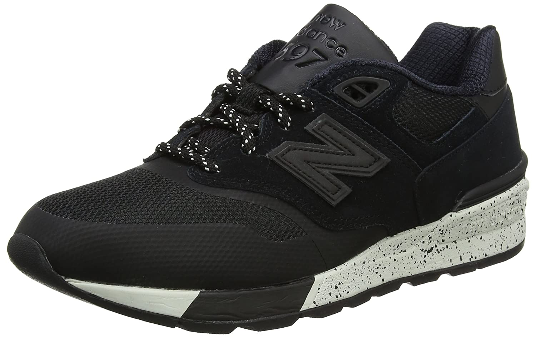New Balance 597, Zapatillas de Running para Hombre 45 EU|Negro (Black)