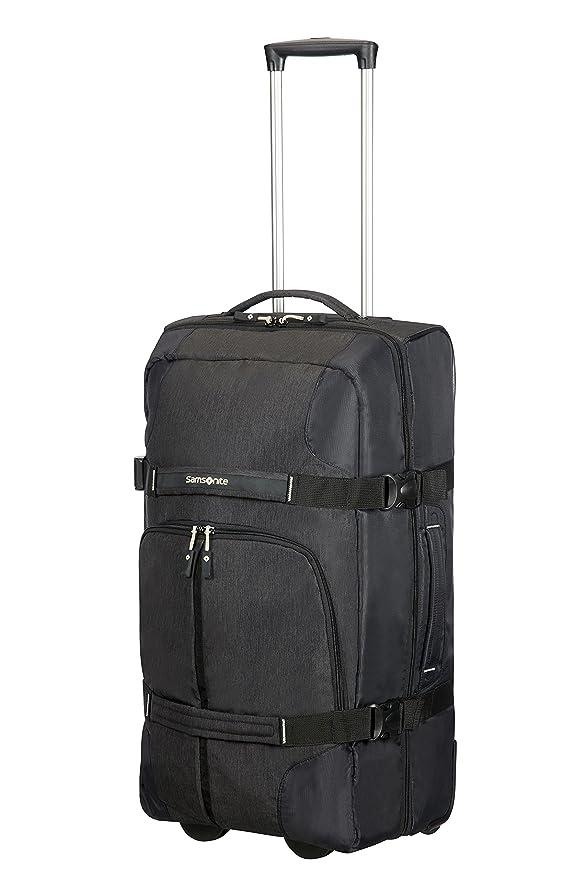 Amazon.com | Samsonite Rewind Duffle with wheels 68/25, 68 cm, 72, 5 L, Black | Luggage & Travel Gear