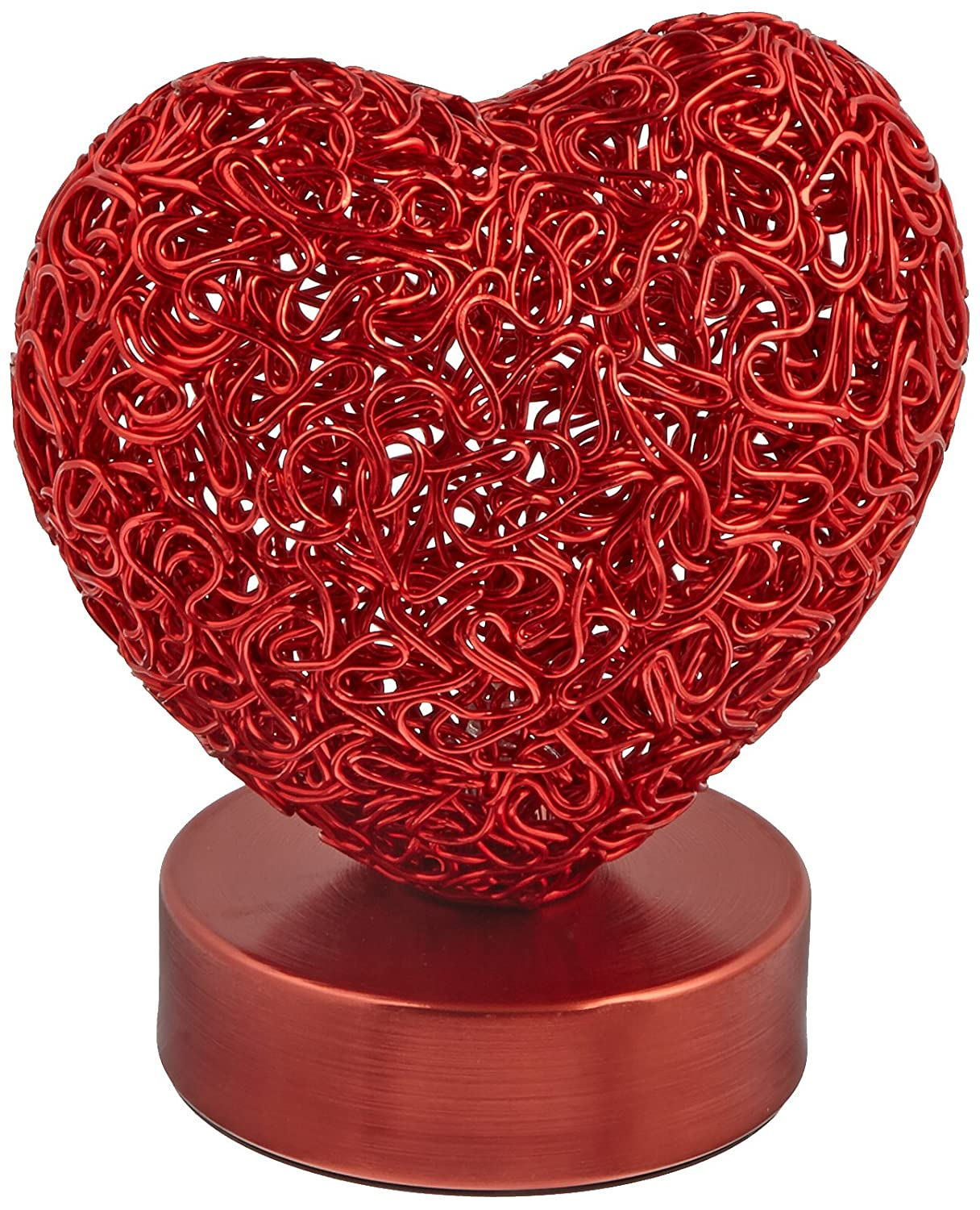 Arclite Heart Shaped Table Lamp, Battery Operated, Red: Amazon.com:  Industrial U0026 Scientific