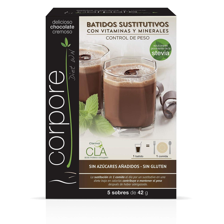 Corpore Diet Batido Sustitutivo Chocolate con CLA Clarinol -210 gr ...