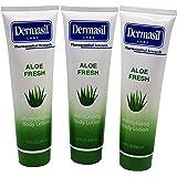 Aloe Fresh Moisturizing Body Lotion 10 fl oz by Dermasil Labs (pack of 3)