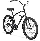 "Raleigh Bikes Men's Retroglide Cruiser Bike, 26""/One Size, Black"
