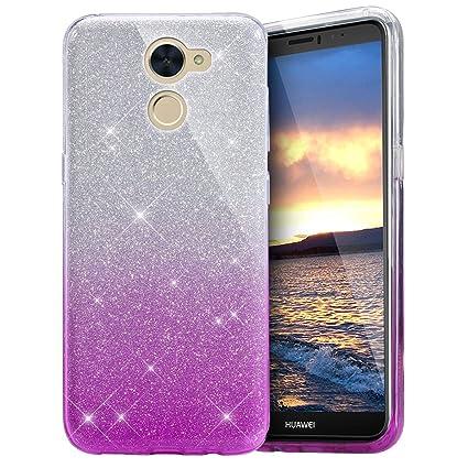 EINFFHO Huawei Enjoy 7 Plus móvil, Huawei Y7 Funda, Carcasa ...