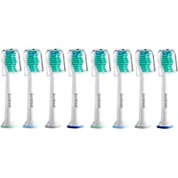 8-Pack Sonifresh Replacement Toothbrush Heads for Philips Sonicare DiamondClean FlexCare EasyClean Brush Handles