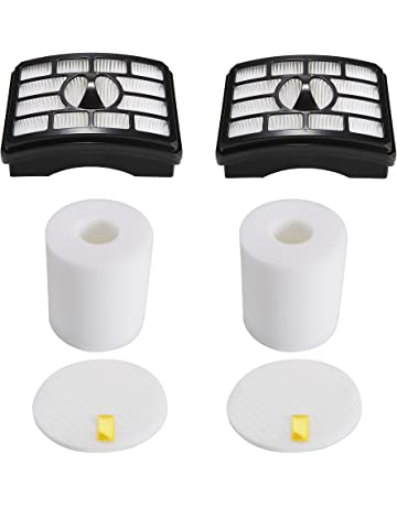 2 HEPA Filter + 2 Foam Flet Filter Kit for Shark Rotator Pro Lift-Away