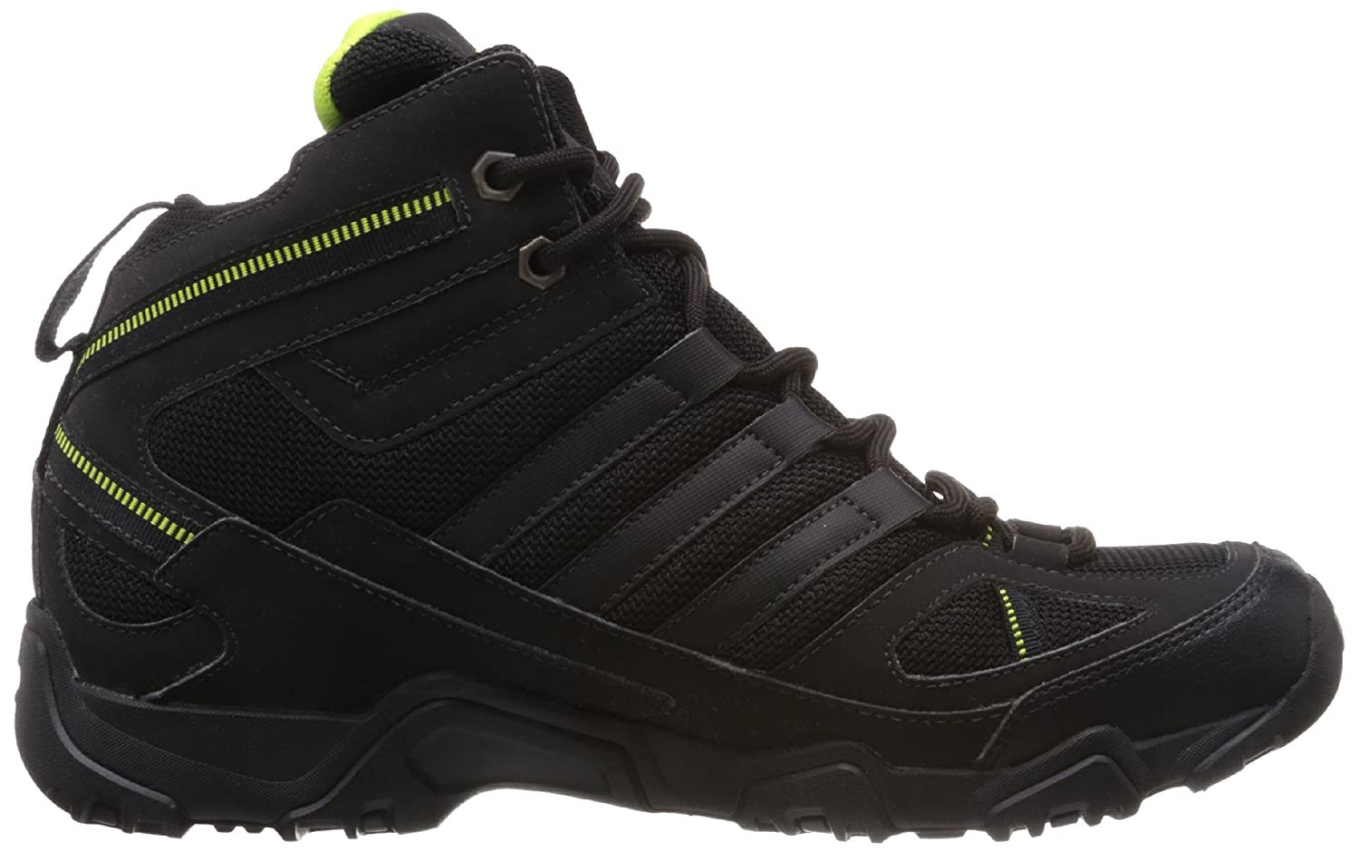 adidas Men's Xaphan Mid Black and Mid Green Mesh Trekking and Hiking Shoes  - 9 UK: Buy Online at Low Prices in India - Amazon.in