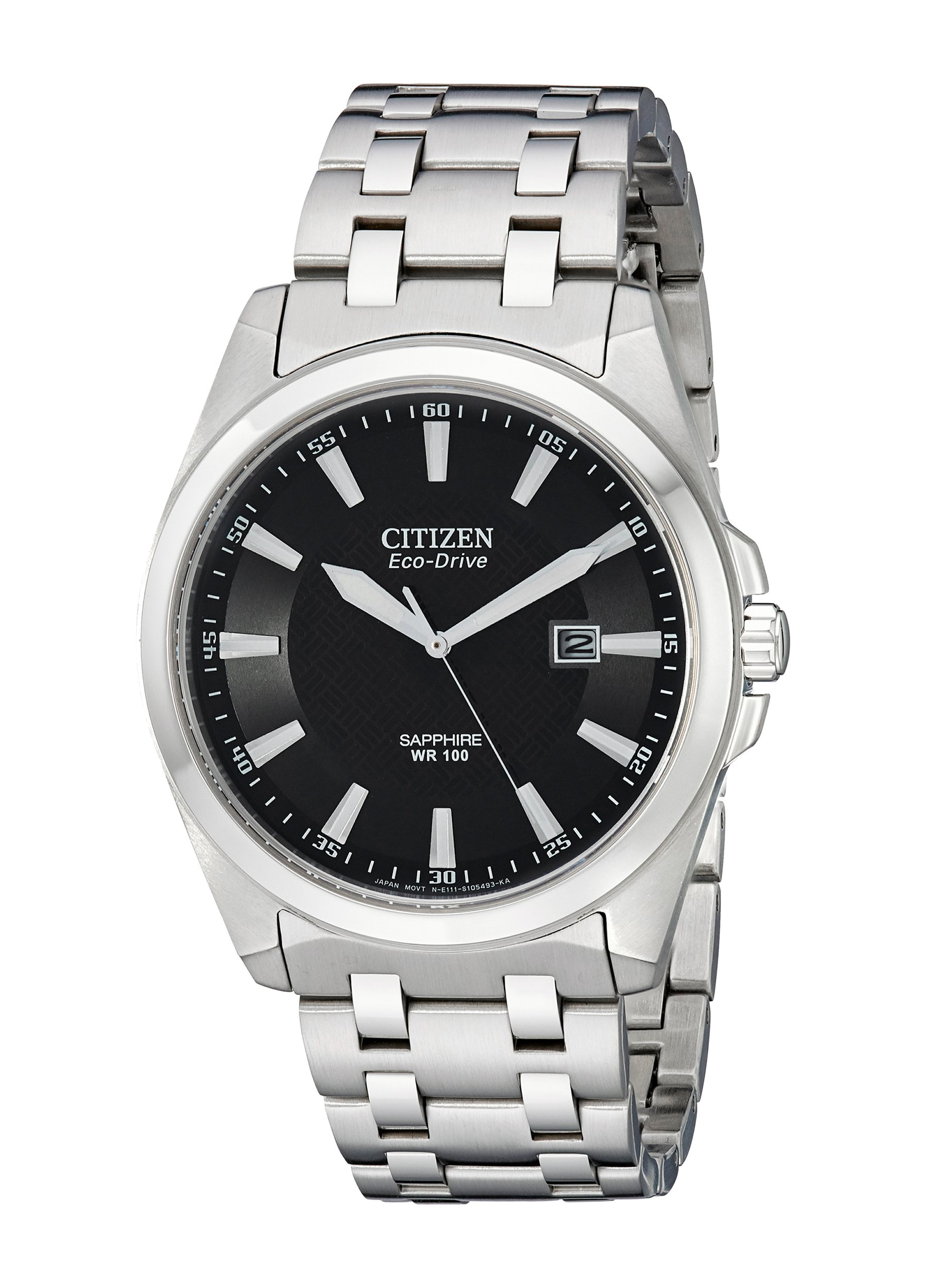 Citizen Men's BM7100-59E Corso Eco Drive Stainless Steel Dress Watch