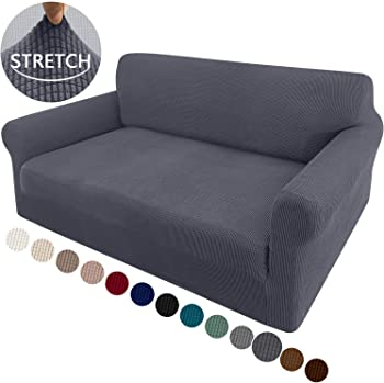 Granbest Loveseat Slipcover 1-Piece Stretch Soft Universal Couch Covers
