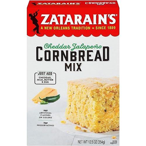 Zatarain's Cheddar Jalapeño Cornbread Mix
