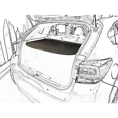 Kaungka Cargo Cover For 2020 2020 2020 Subaru Impreza hatchbacks 2020 2020 Subaru Crosstrek (Not Fit for Subaru Crosstrek Hybrid) Retractable Trunk Shielding Shade(Black): Home Improvement [5Bkhe0402446]
