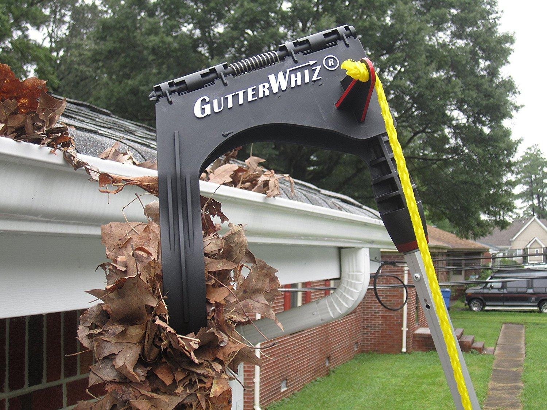 Gutterwhiz Gw1 Gutter Cleaning Tool Roof Gutter Cleaner