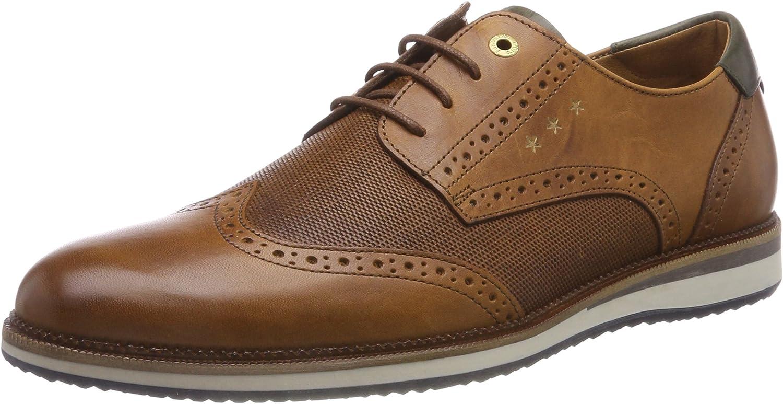 TALLA 43 EU. Pantofola d'Oro Rubicon Uomo Low, Zapatos de Cordones Derby para Hombre