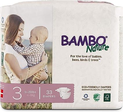 Nature Babycare Pa/ñales desechables talla 3