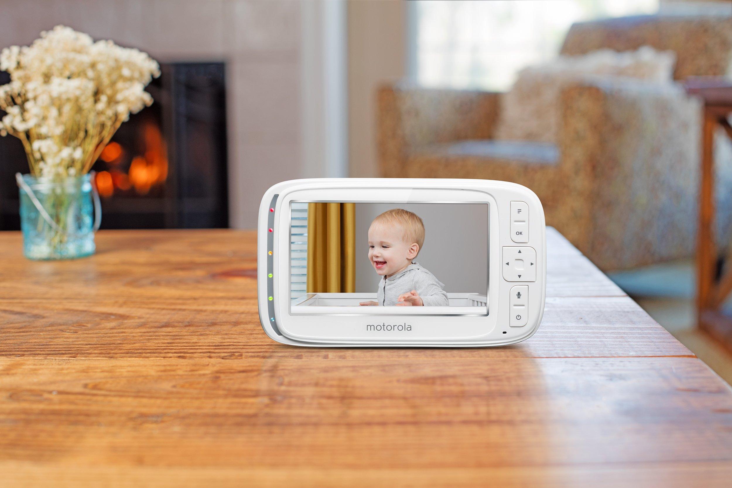 Motorola Comfort 50 Digital Video Audio Baby Monitor with 5 inch Color Screen by Motorola Baby (Image #5)