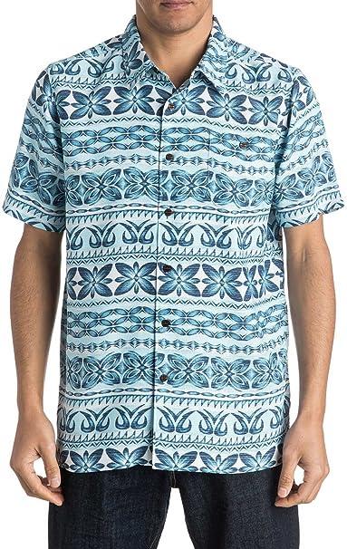 busca lo mejor costo moderado zapatos de temperamento Quiksilver Camisa Hawaiana de los Hombres de Lono: Amazon.es ...