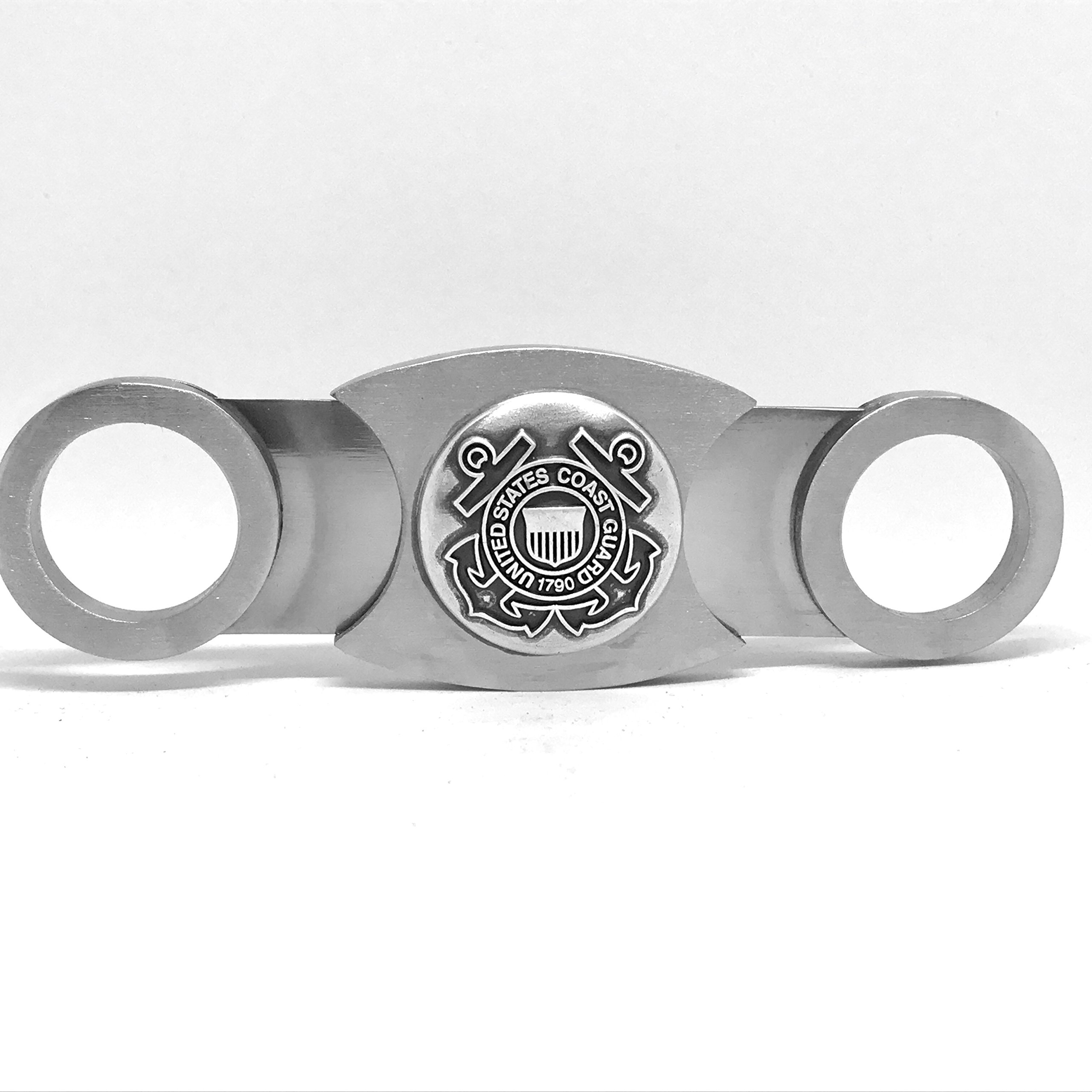 US Coast Guard Cigar Cutter - Double Guillotine