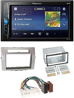 caraudio24 Pioneer MVH-A100V 2DIN MP3 USB AUX Autoradio f/ür VW Sharan ab 10 Tiguan ab 07 Touran ab 03