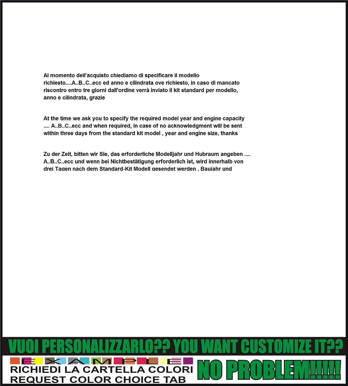 Kit adesivi decal stikers aprilia etv 1000 caponord INDICARE IL MODELLO A o B o C o D
