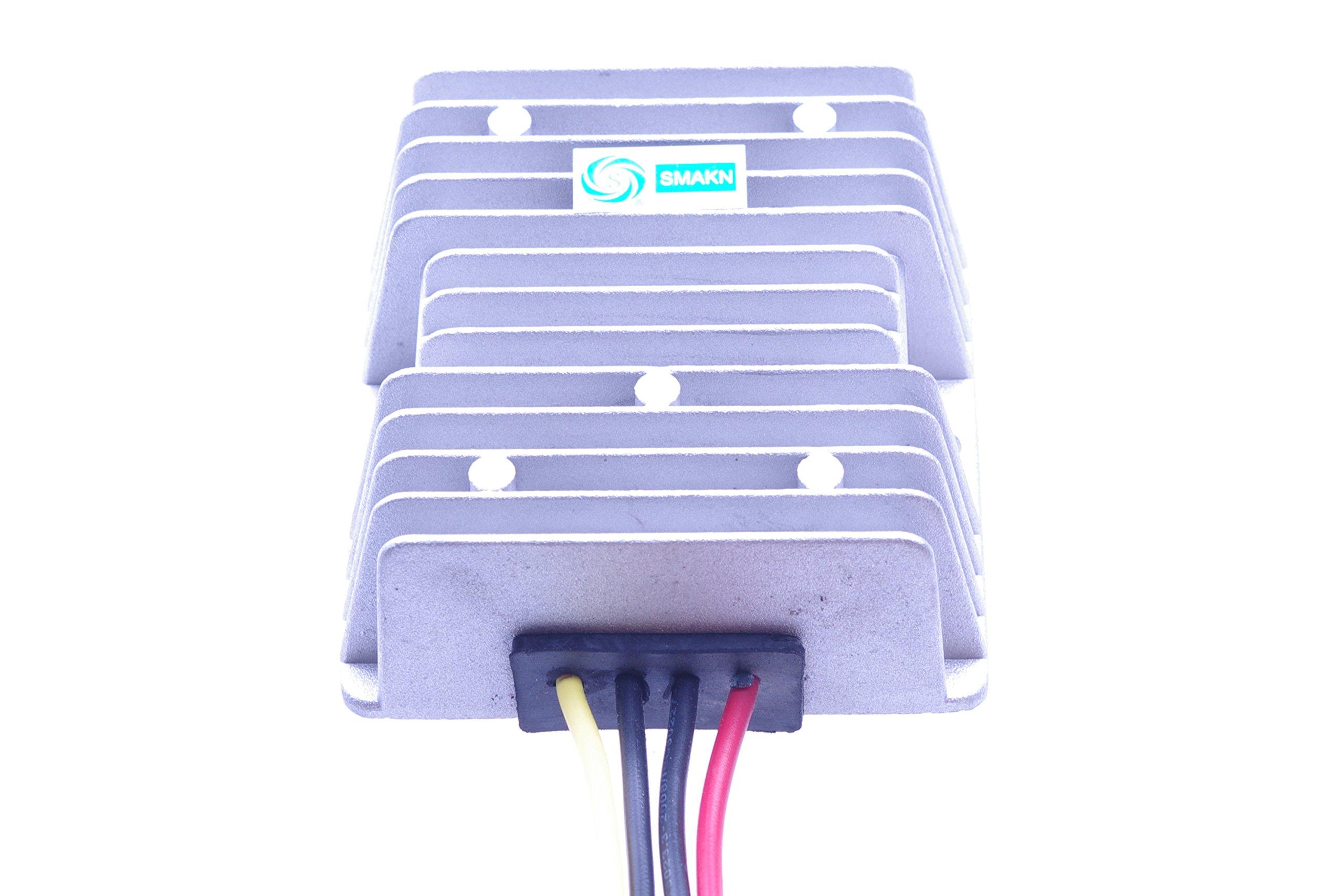 SMAKN DC/DC Converter 48V/36V (30V-60V) Step Down to 12V/15A 180W Power Supply Module
