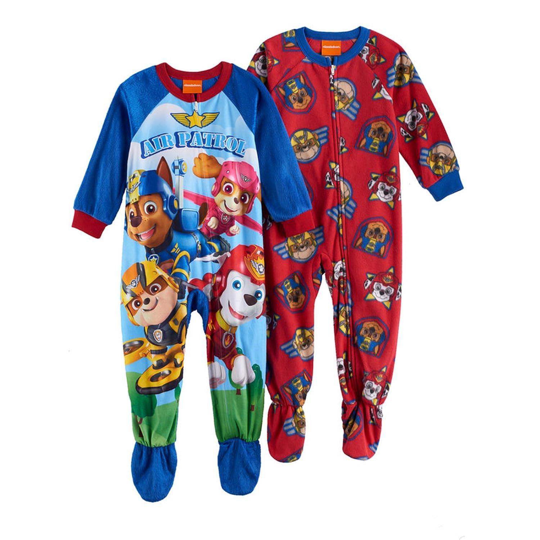 PAW Patrol Fleece Footed Pajama Toddler Boy