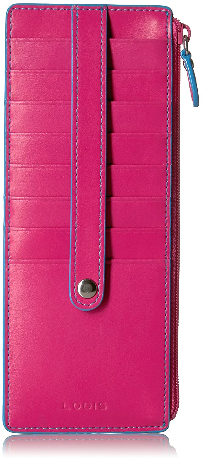 best loved 53b04 840c8 Lodis Audrey RFID Credit Card Case with Zipper Pocket
