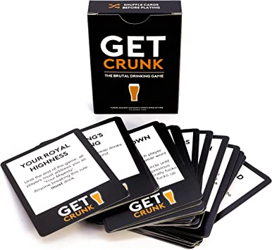 Get Crunk Volume 2 The Brutal Card Drinking Game Pre Drinks For Students Parties