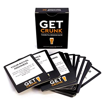 get crunk the brutal card drinking game for students pre drinks