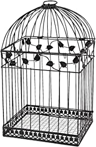Black Metal Wedding Bird Cage Card Holder Beautiful Wedding Reception Piece!! (Limited Edition)