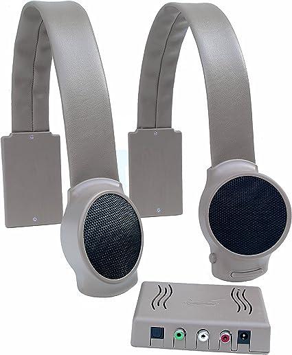 Audio Fox Wireless TV Speakers - Gray