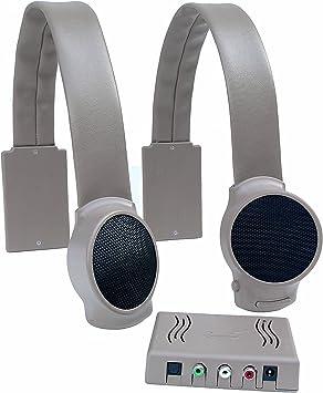 Audio Fox - Altavoces inalámbricos para TV, Color Gris: Amazon.es ...
