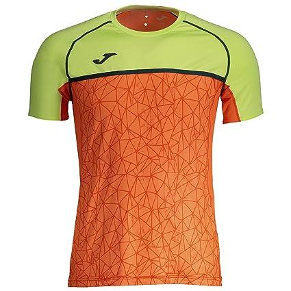 Joma Olimpia Flash Camisetas, Hombre, Naranja, XS