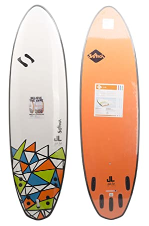 SOFTECH - Tabla de Surf Shortboard jlevy DSS - Talla: one size ...