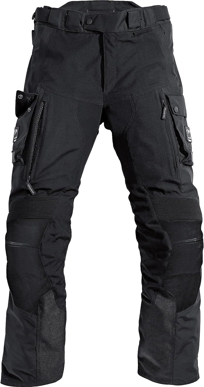 Pharao Motorradhose Reise Leder Textilhose 1 0 Schwarz M Herren Enduro Reiseenduro Ganzjährig Bekleidung