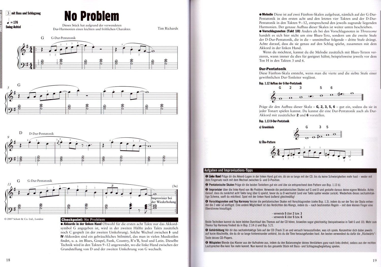 Jazz Piano 1 - Das standard di Tim Richards - Nozioni di