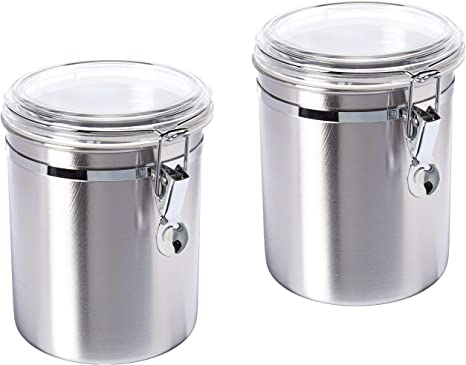 Rev A Shelf 5dch 2 1 Cr Drop In Canister Holder With Canisters For Drawer Peg Board System Home Kitchen