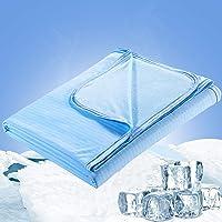 Luxear Manta de enfriamiento Dormir, ARC-Chill Mantas de Verano livianas de Doble Cara para Personas Que Duermen…