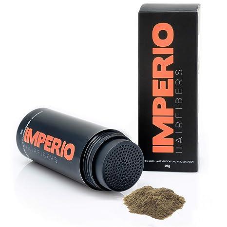 Fibras capilares Imperio – Para disimular la caída de cabello – Microfibras naturales de algodón resistentes